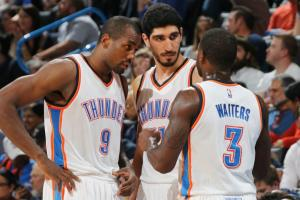 Enes Kanter has caused a Thunder halal craze