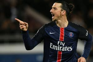Watch: Zlatan tries no-look shot, misses
