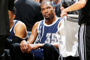 Spurs pounce on Thunder's inefficiencies in rout
