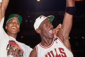 Watch: Michael Jordan, Scottie Pippen reunite