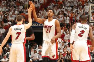 Heat at full strength in Game 7 win vs. Hornets