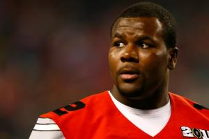 Cardale Jones ruined his shirt when he was drafted