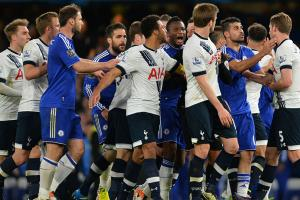Watch: Sparks fly between Spurs, Chelsea