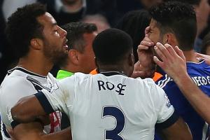 Watch: Mousa Dembele gouges Diego Costa in the eye