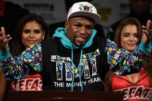 Floyd Mayweather files for 'TMT 50' trademark