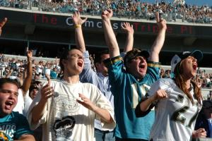 Watch: This Jaguars fan may be the best sports fan