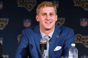 Rams QB Jared Goff's Draft Experience