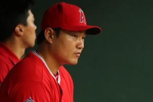 Angels' Ji-Man Choi saw a ghost at Pfister Hotel