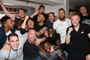 Watch: Leicester players react after winning title