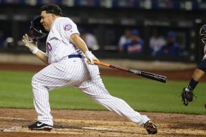 Yeah, Bartolo Colon's helmet flew off again