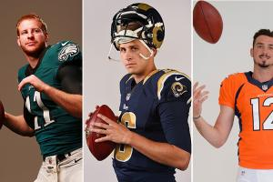 How the deals for Goff, Wentz and Lynch got done