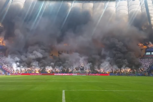 Watch: Polish fans go wild at Polish Cup final