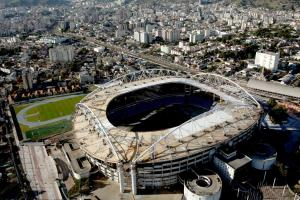 Track stadium being finalized ahead of Olympics