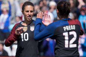 Watch: Carli Lloyd on her injury, Olympics, USWNT