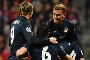 Griezmann goal puts Atletico in control vs. Bayern