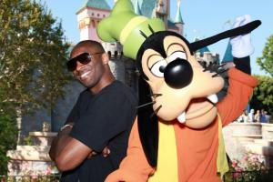 Kobe Bryant went to Disneyland
