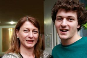 Mother and son to compete at the Olympics together