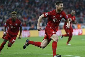 Watch: Xabi Alonso gives Bayern lead over Atletico