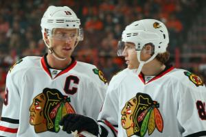 Patrick Kane didn't follow Jonathan Toews