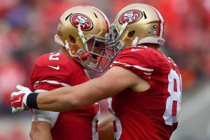 Celek: Gabbert taking control during workouts