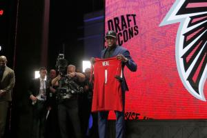 Falcons, first-rounder Keanu Neal agree to deal