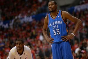 Kevin Durant is owning up to his adjustable height
