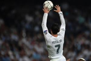 Watch: Ronaldo dunks the ball on the goal line