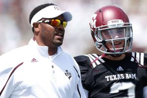 Sumlin hasn't been in touch with Johnny Manziel