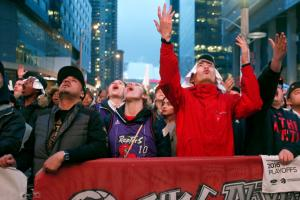 Toronto police mistook fans cheering for gunshots