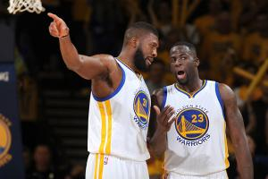 Draymond explains press conference space out video