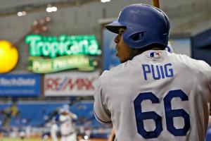 Dodgers' Yasiel Puig, Adrian Gonzalez went fishing
