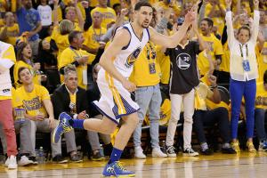 Klay Thompson powering Warriors while Curry heals