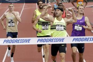 Nick Symmonds sells ad space on shoulder