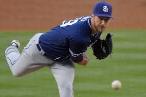 Padres' Colin Rea has no-hitter broken up in 7th