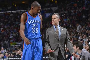 Billy Donovan figuring out NBA playoffs on fly