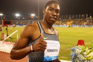 Tori Bowie, Caster Semenya win in Doha