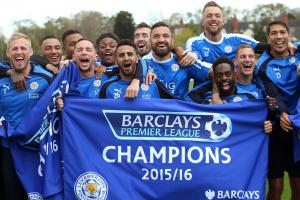 Leicester City's Premier League title celebrations