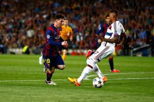 One year ago: Messi torched Boateng in UCL