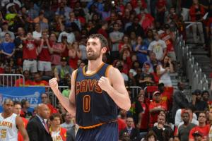 Cleveland Cavaliers' Kevin Love like Game of Thrones