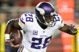 Adrian Peterson expects to play five more seasons