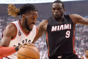 nba-playoffs-miami-heat-toronto-raptors-luol-deng-demarre-carroll-wrist-injuries-game-5