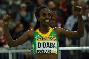 Genzebe Dibaba chases mile and 1,500m world record