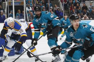 Who advanced stats favor in the NHL West finals