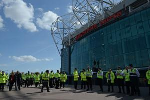 Manchester United's Old Trafford came under threat after a suspicious package was found
