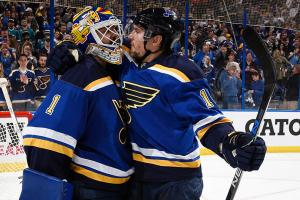 Three Stars: Blues' Elliott steps up in Game 1