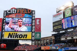 Watch: Mets pay tribute to Daniel Murphy