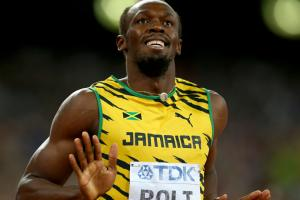 Usain Bolt gets hamstring treated in Germany