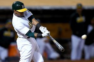 Khris Davis's third homer is walk-off grand slam