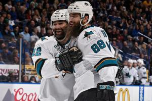 Three Stars: Burns shines for Sharks in WCF Game 2
