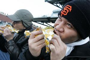 minor league baseball food map